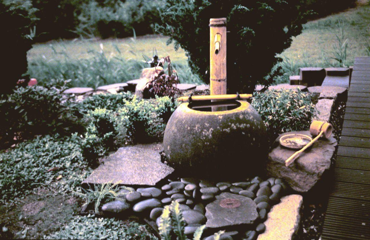 ideas de decoracion para el jardin con fuentes de bambu with fuentes de bambu