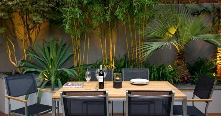 Jardin Bambu. Ver Fotos. Diseo De Jardines Bambu Rocas Madera ...